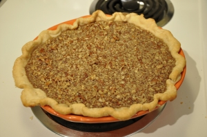 Maple Pecan Pumpkin Pie
